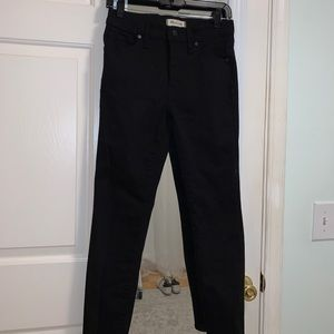 """Madewell 9"""" High Rise Jeans"""